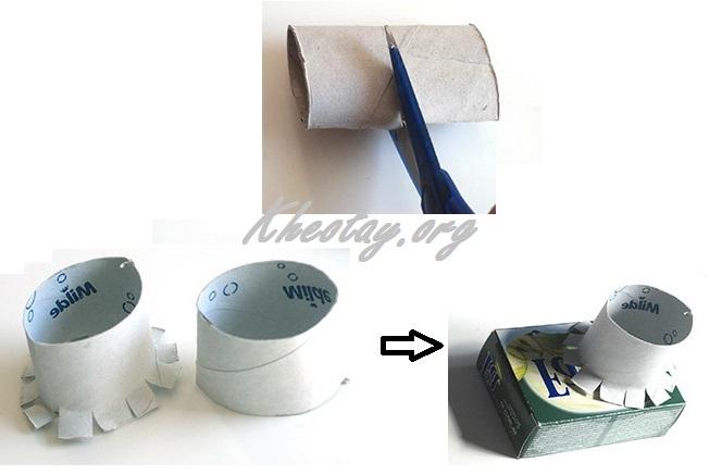 Cách làm máy ảnh bằng giấy đẹp mà đơn giản