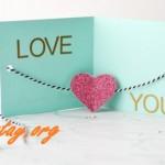 Cách làm thiệp tình yêu đẹp mà đơn giản