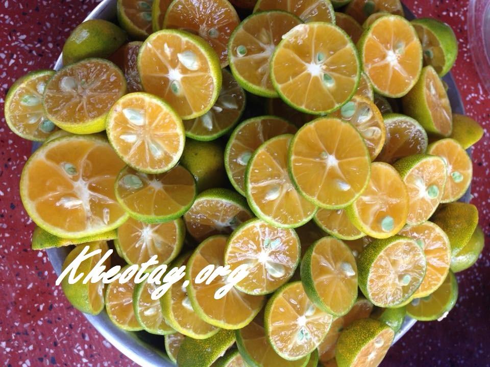 Cách làm nước uống giải nhiệt mùa hè từ quất