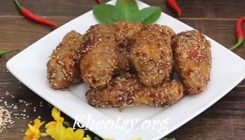 Cách làm cánh gà chiên cay kiểu Hàn Quốc