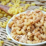Cách làm snack ngon lạ từ nui làm mì spaghetti