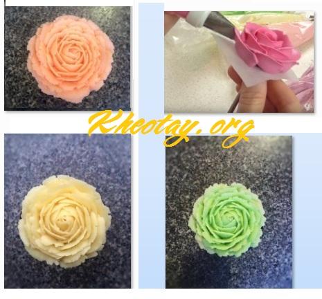 Cách làm xôi hoa đẹp từ đậu xanh đậu trắng