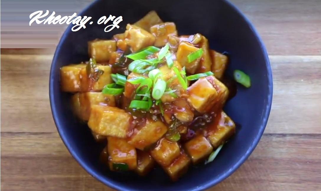 Cách làm món chay ngon từ đậu hũ