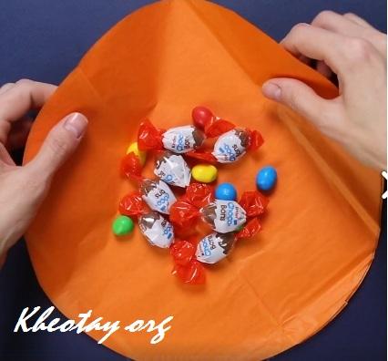 cách làm quà tặng Halloween đơn giản