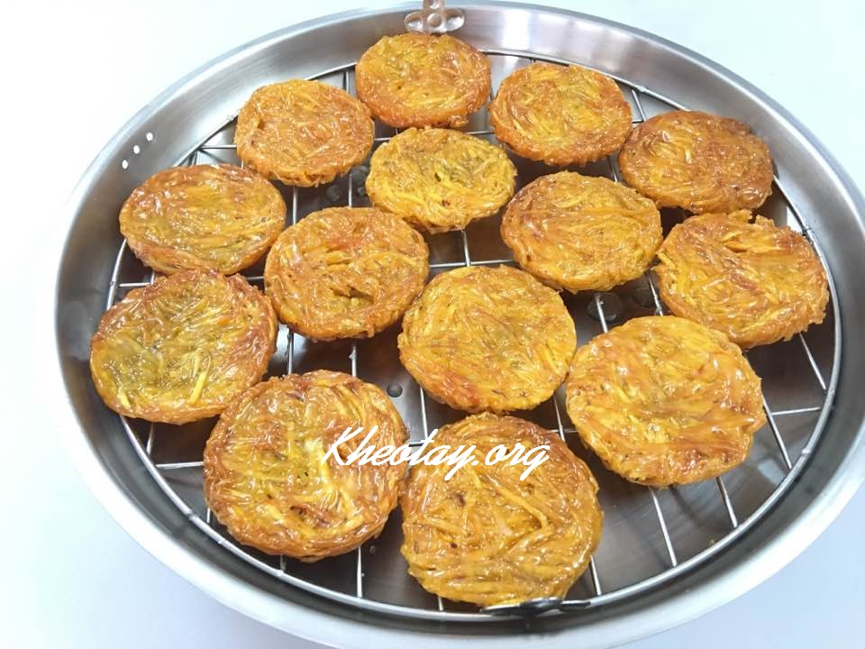 Cách làm bánh khoai ngon giòn
