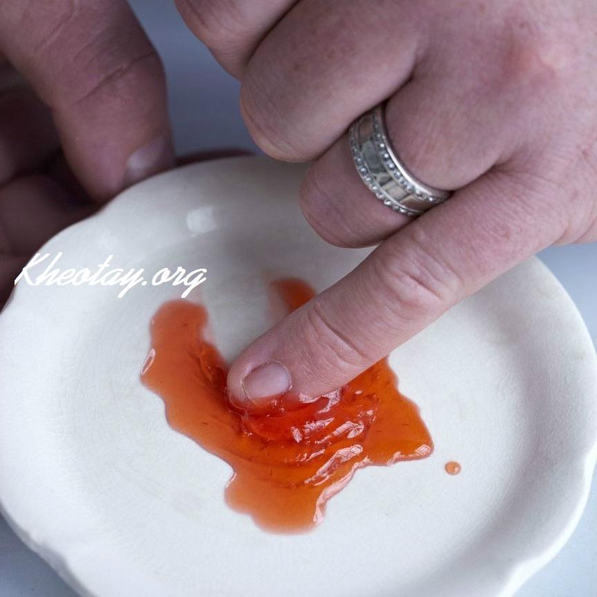 Công thức làm mứt dâu tây ngon chuẩn vị