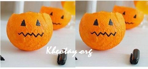 Cách làm đồ trang trí Halloween đơn giản, rẻ tiền vẫn đẹp