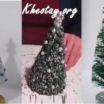 3 cách làm cây thông Noel đơn giản từ đồ tái chế